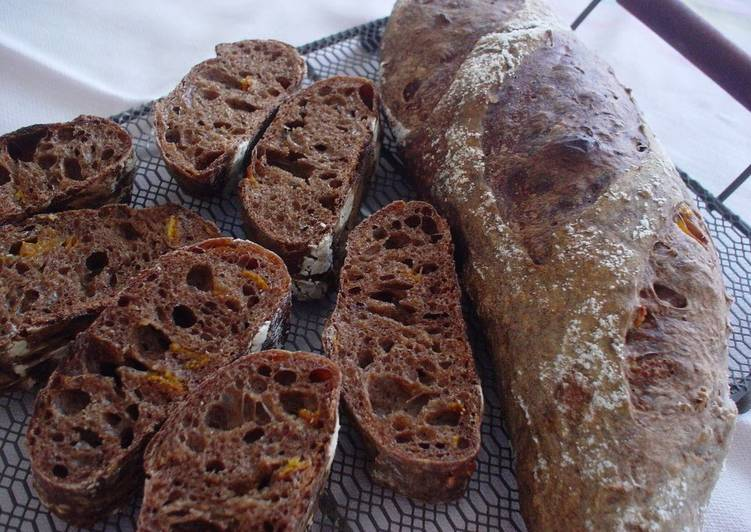Recipe of Homemade Mocha French Bread (Made with Yeast)