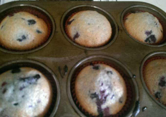 How to Prepare Perfect Devilish Blueberry Muffins