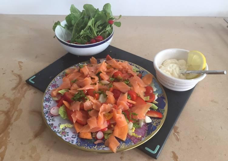 Early summer salad
