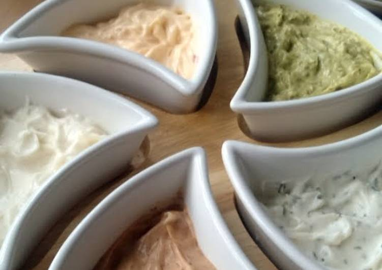 Simple Way to Prepare Super Quick Homemade Vickys Flavoured Mayonnaises, GF DF EF SF NF