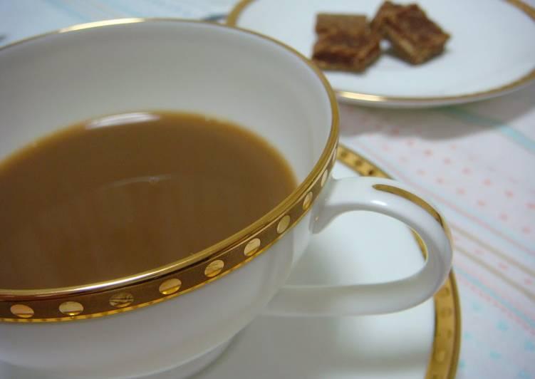 Brown Sugar Coffee with Skim Milk