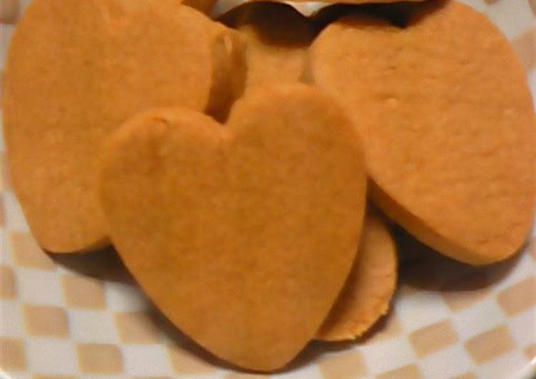 Easiest Way to Make Perfect Without Butter Crispy Cookies Made with Roasted Soy Flour