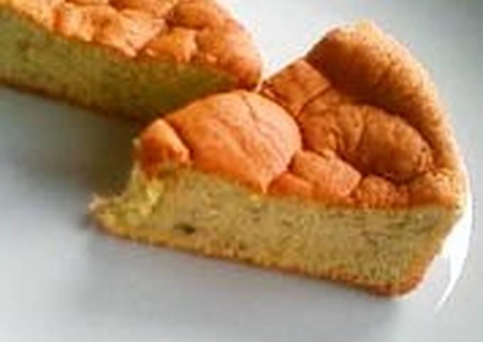Steps to Make Favorite A Snack for Children Fluffy Banana Cake