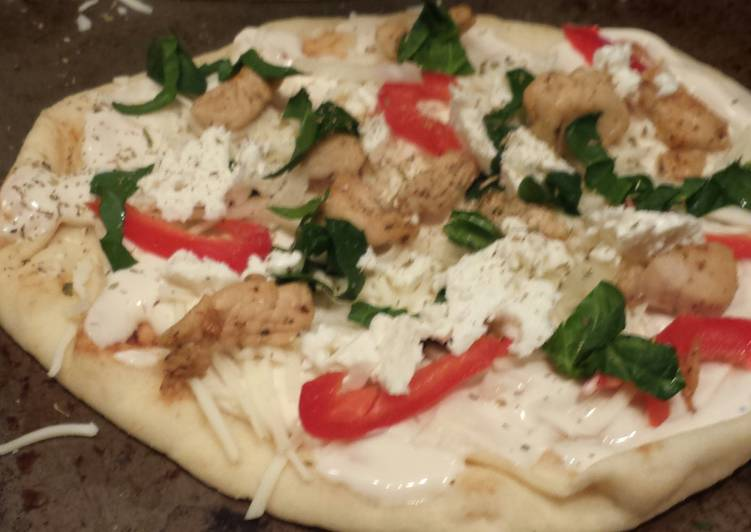 Easy Flat bread pizza