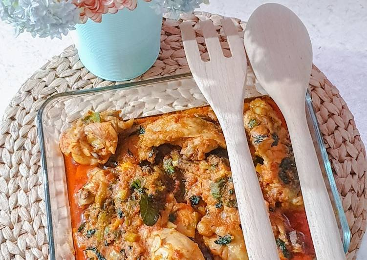 Ayam woku balanga (khas manado)