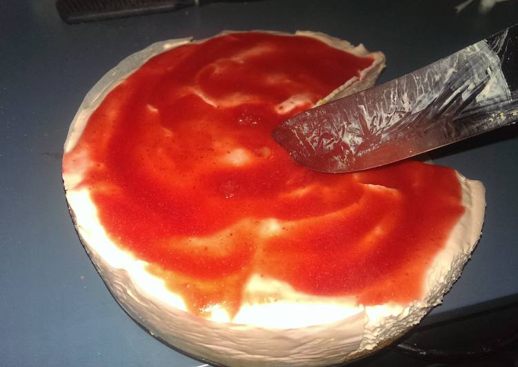 Ali's Strawberry Cheesecake