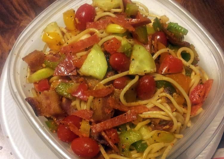 Ms. Vivian's Spaghetti Pasta Salad