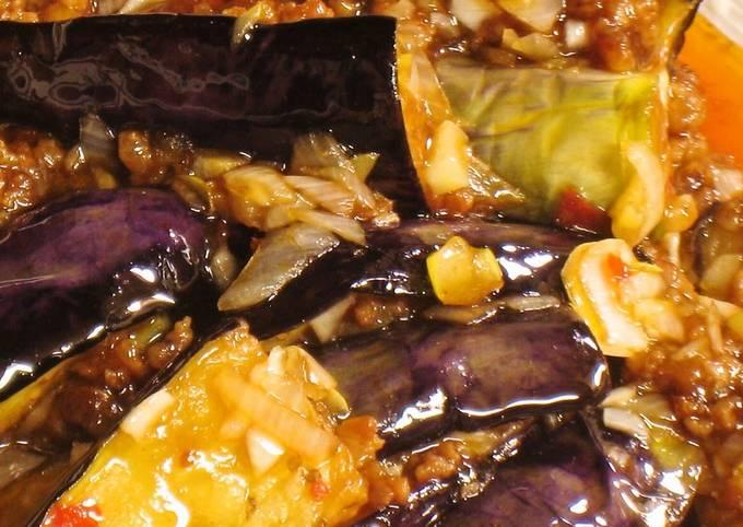 Sichuan-style Mapo Eggplant