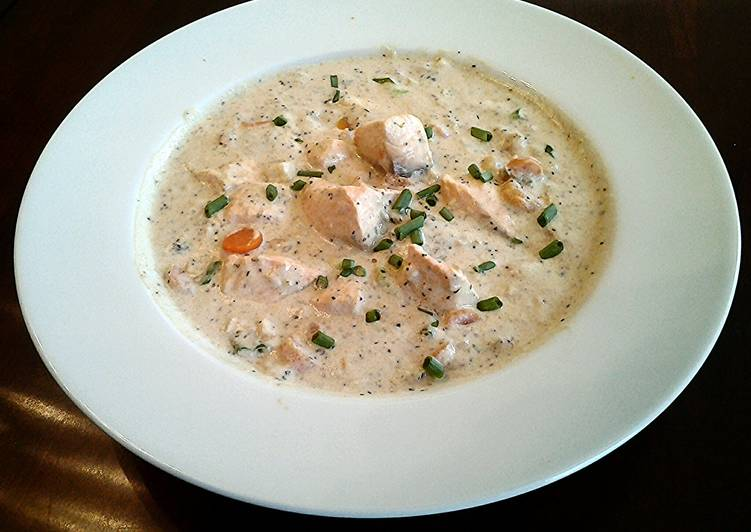 Easiest Way to Make Most Popular Salmon Chowder