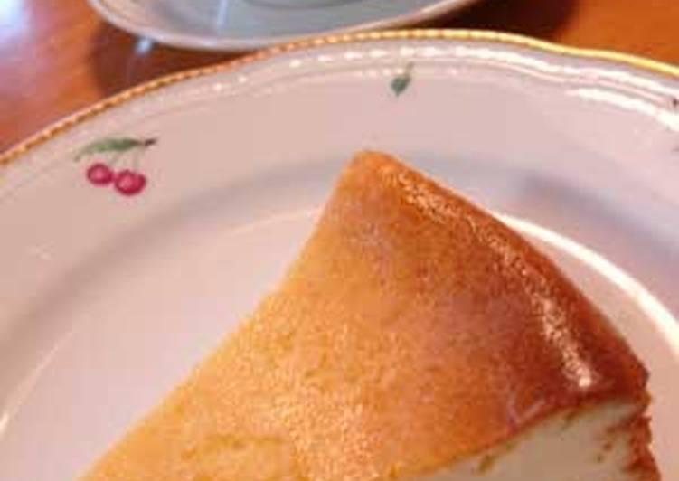 Heavy Cream-free Baked Cheesecake