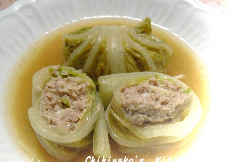 Light & Delicious Cabbage Rolls