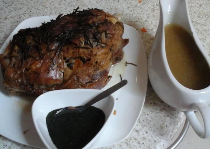 Lovely Sunday Roast Lamb