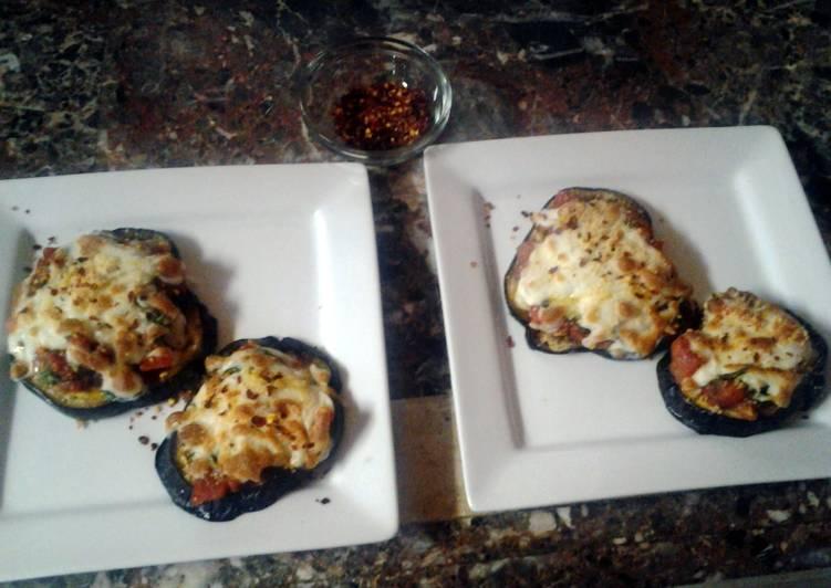 eggplant pizza's
