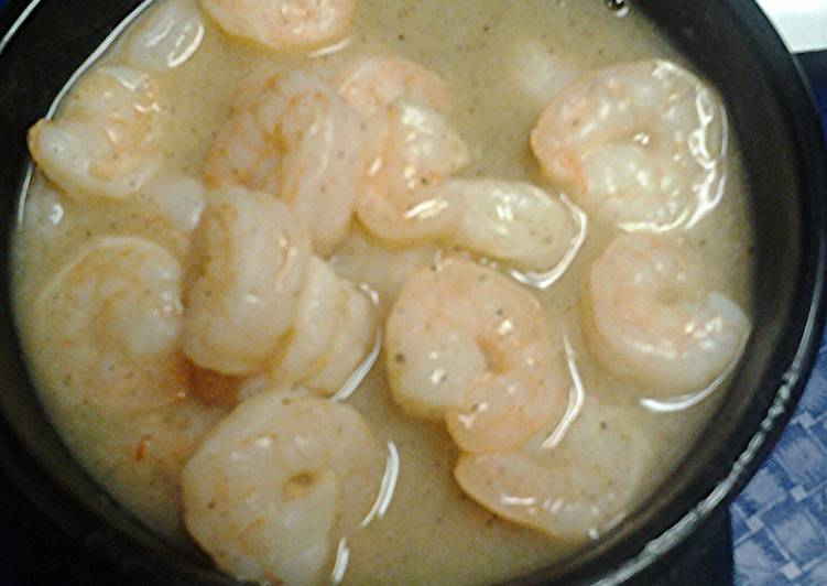 How to Prepare Ultimate Lemon pepper garlic shrimp