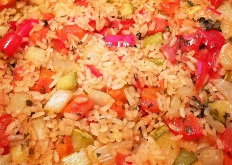 Ricetta Riso al forno con verdure