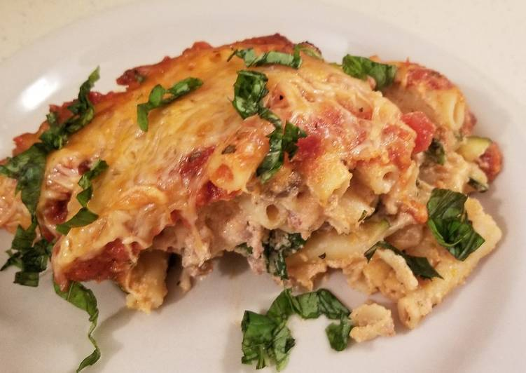 Garden Baked Ziti with Sausage, Helping Your To Be Healthy And Strong with The Right Foods