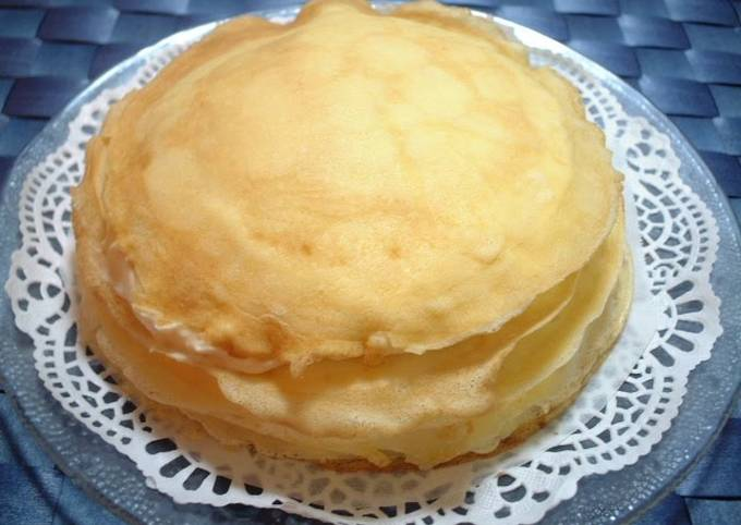 Recipe: Perfect Rice Flour Chewy Crepes