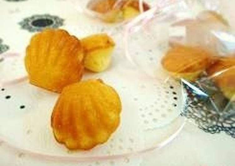 Simple Way to Prepare Award-winning My Special Plain Madeleines