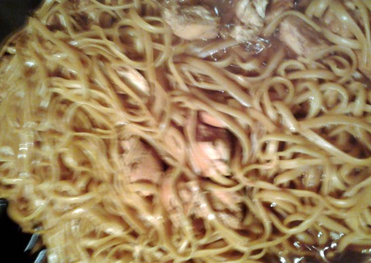 Recipe of Award-winning noodles with chicken