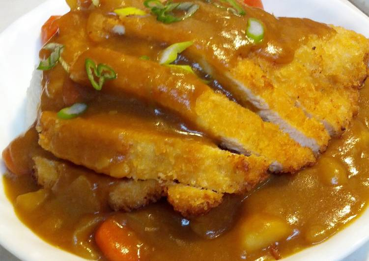 Living Greener for Better Health By Dining Superfoods Chicken Katsu Curry
