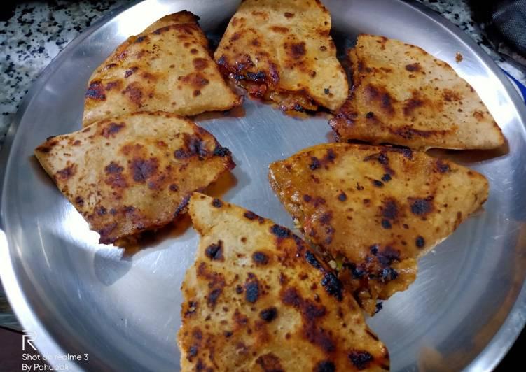 Simple Way to Prepare Quick Leftover chapati toast