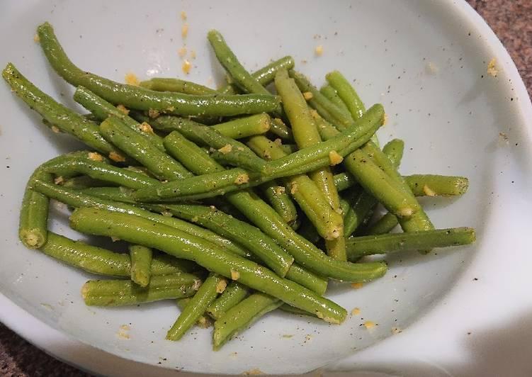 Recipe of Speedy Lemony Green beans
