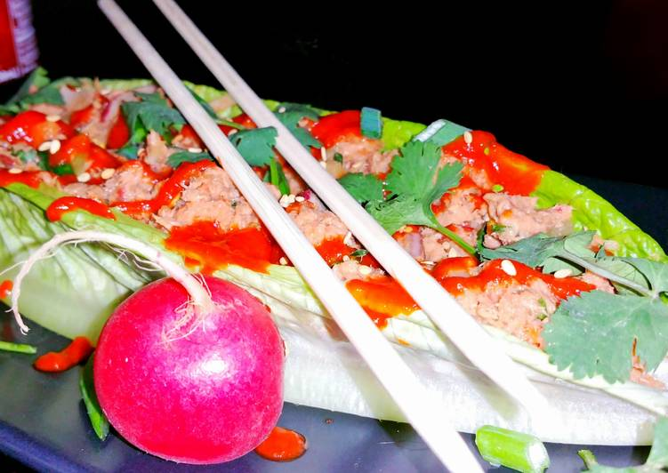 How to Make Quick Mike's Easy Spicy Tuna Wraps
