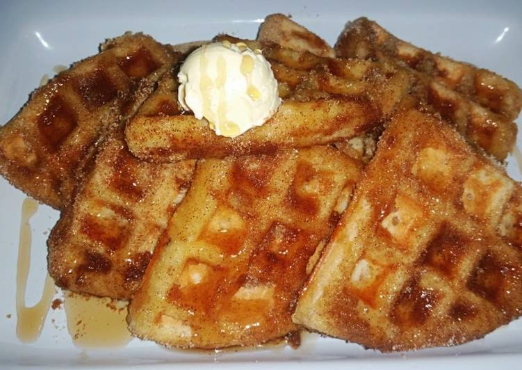 Recipe: Tasty Mexi Churro Waffles