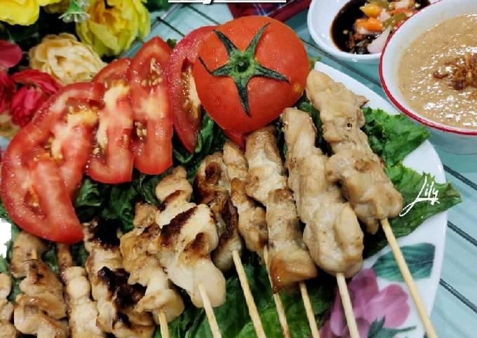 Bagaimana Menyiapkan Sate Ayam Homemade Anti Gagal