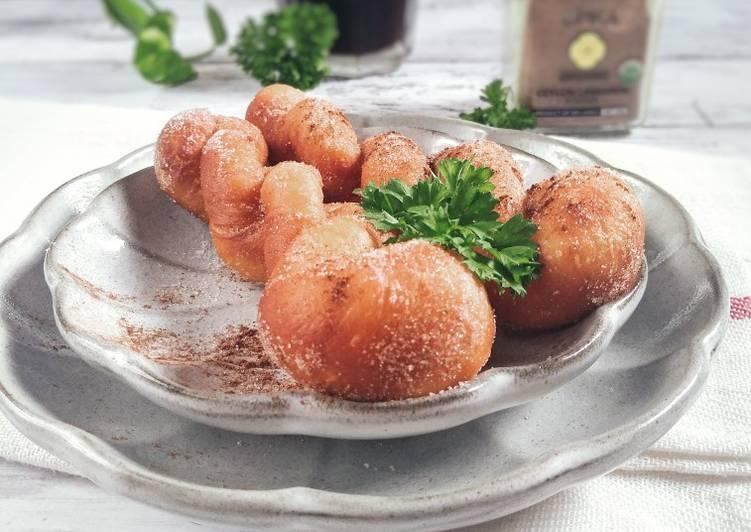 Resepi:  Kkwabegi @twisted korean doughnuts  Terbaru
