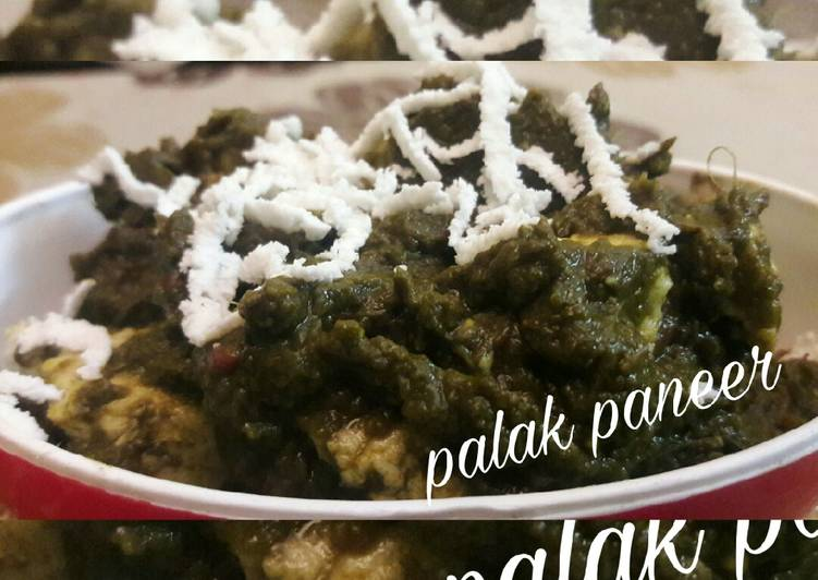 Step-by-Step Guide to Make Perfect Palak paneer