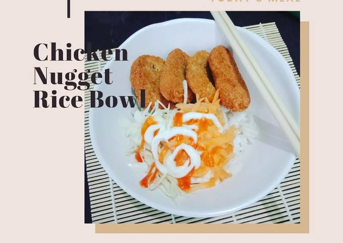 Chicken Nugget Rice Bowl