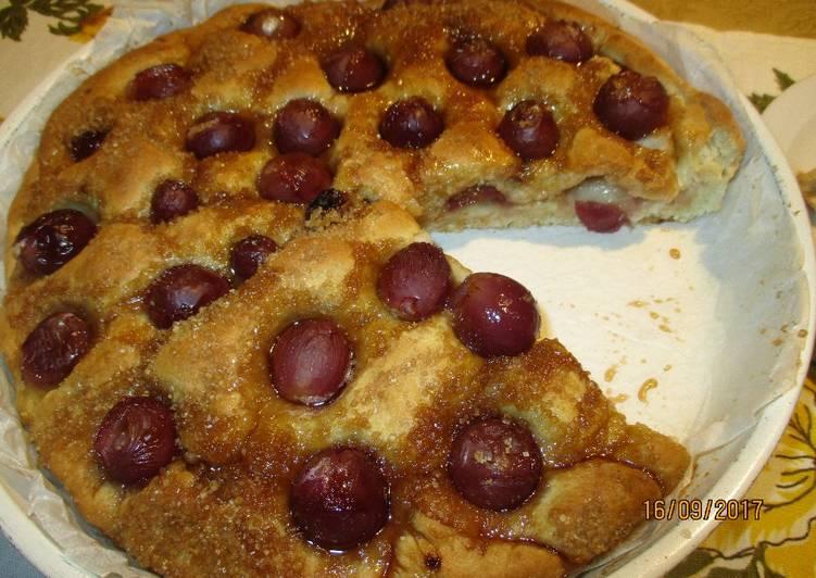 Ricetta Schiacciata toscana con l'uva