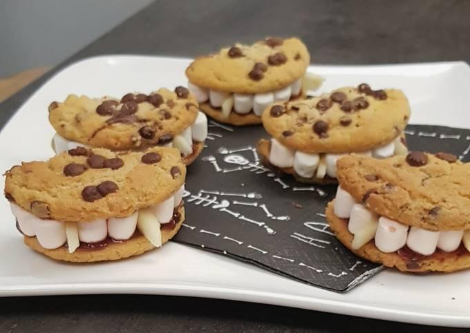 °Dentier croquant aux cookies et Chamallows °