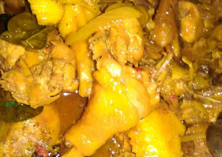 Ayam kecap bawang bombay