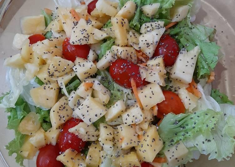 Salad campur2 #eatingclean