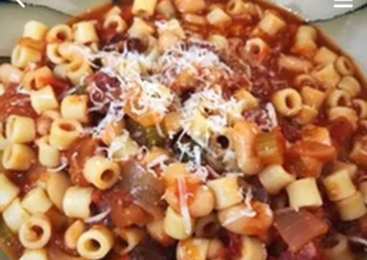 Recipe of Speedy Pasta e Fagioli