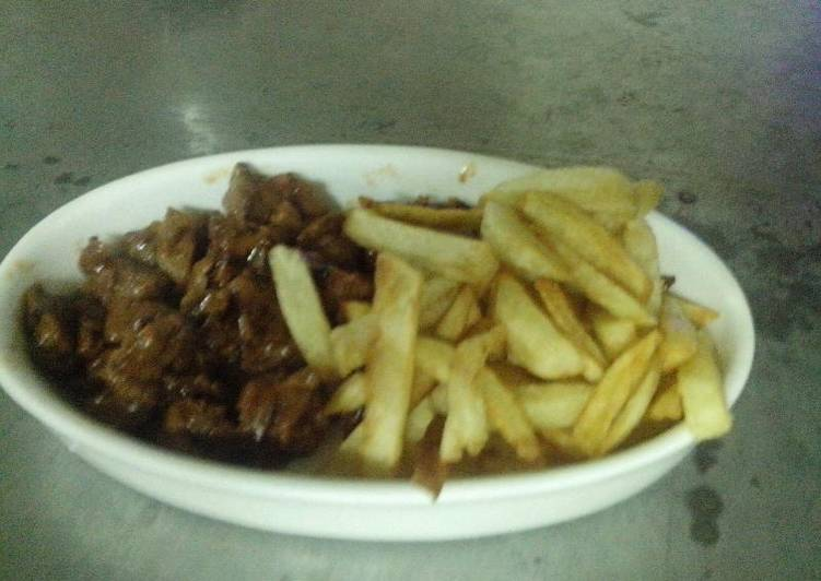 How to Prepare Quick Chips nyama