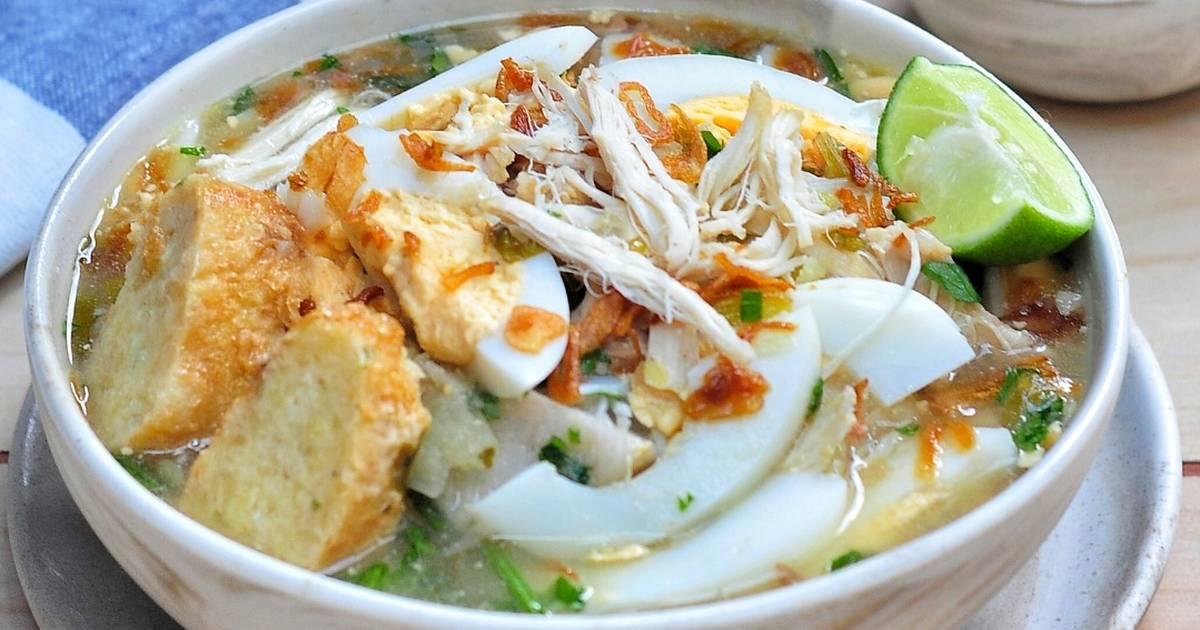 Makanan Khas Indonesia dari Kalimantan, Soto Banjar