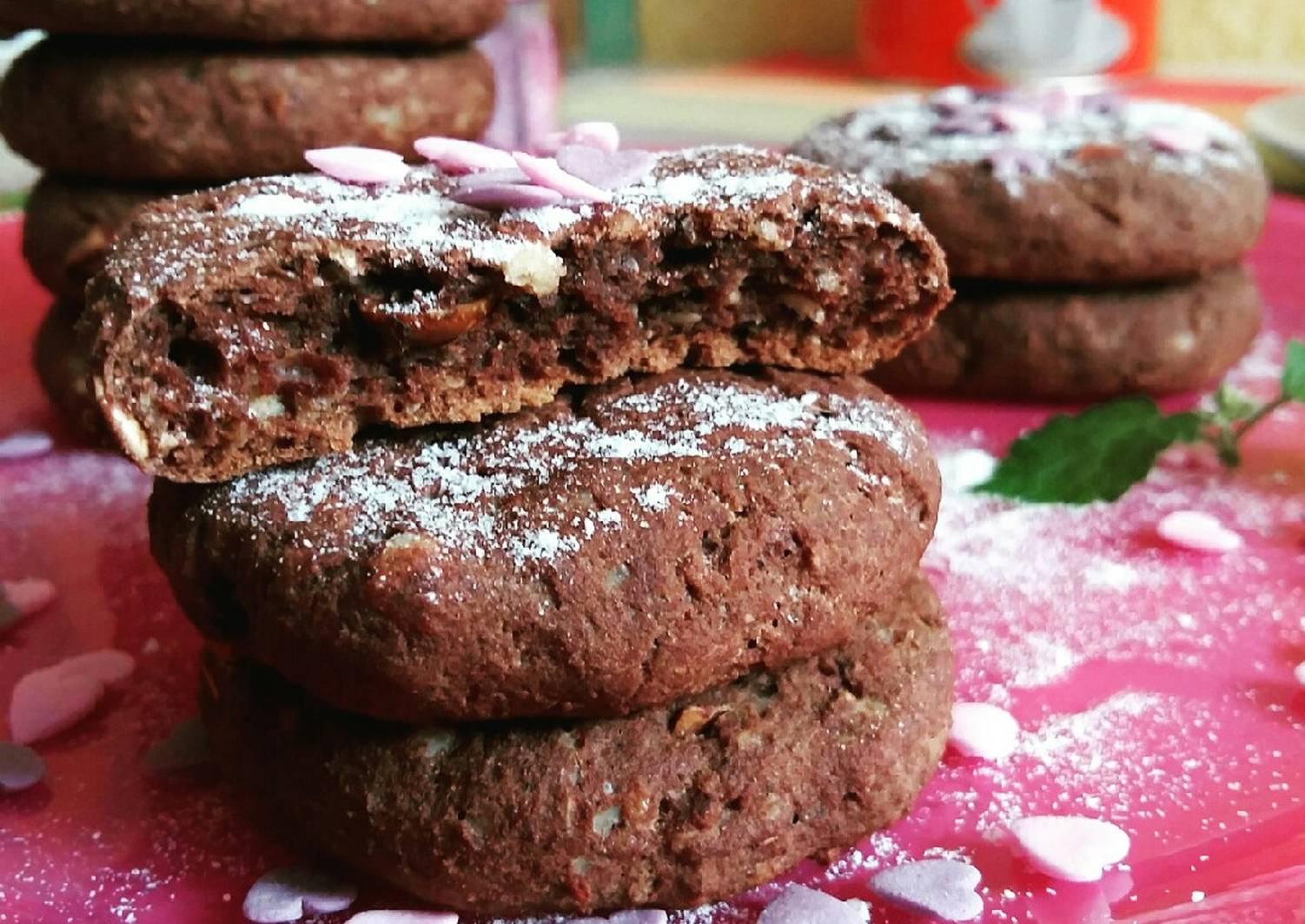 подключения супер шоколадное печенье рецепт с фото корзинка
