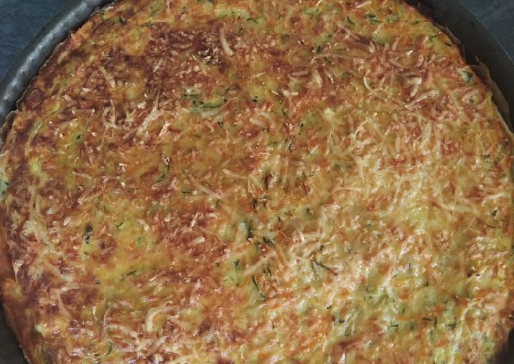 Tarte courgettes et carottes