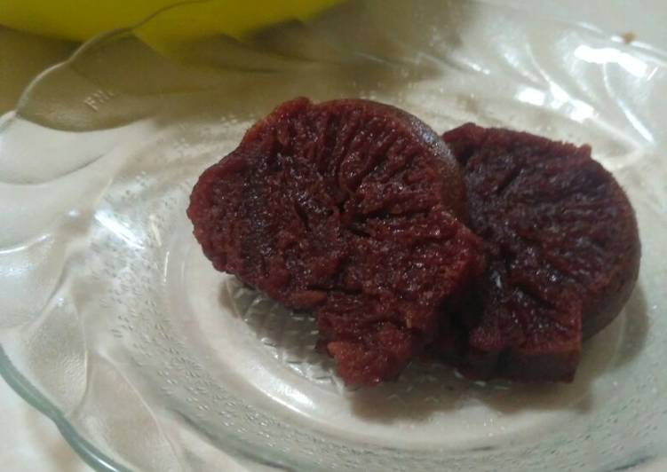 Bolu karamel simple takaran sendok - cookandrecipe.com