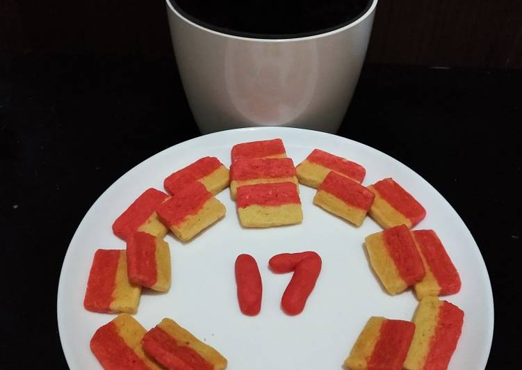 Cookies Strawberry Merah Putih