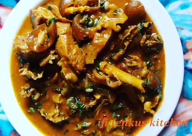 Recipe of Perfect Ofor soup