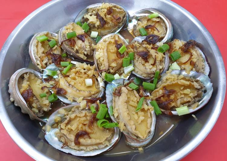 Recipe: Appetizing Steam Abalone 蒸鲍鱼