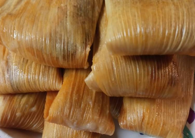 New Year's Eve Tamales, Pork