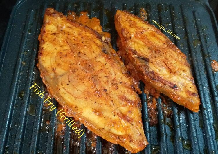 15 Minute Recipe of Homemade Fish Fry (Grilled)