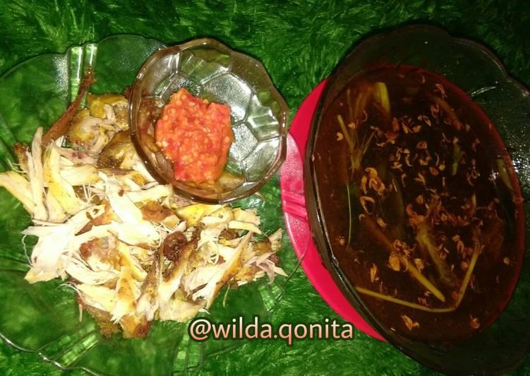 Rawon Ayam Suwir