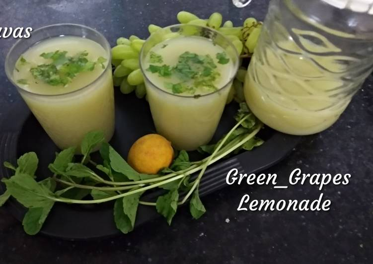 Green Grapes Lemonade