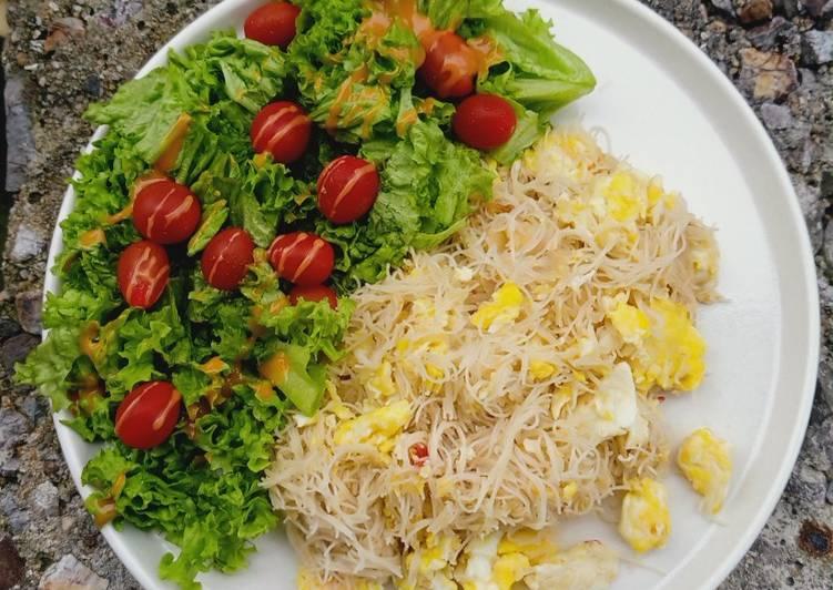 Cara Mudah Masak: Mihun goreng eatclean  Dirumah